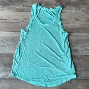AE Soft & Sexy Teal Tank top size Small